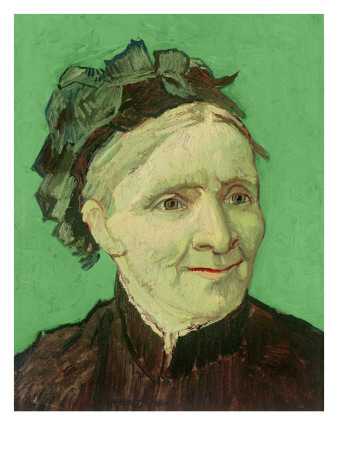 Portrait of the Artist's Mother, 1888 Giclée-tryk