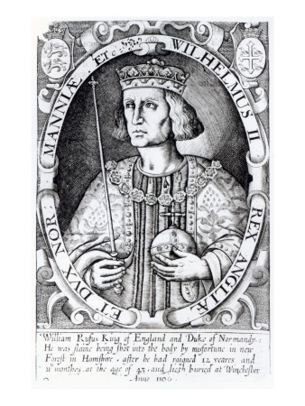 King William Ii of England, 1618 Giclee Print
