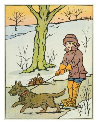 Run, Dandy Run, 20th Century Giclee Print