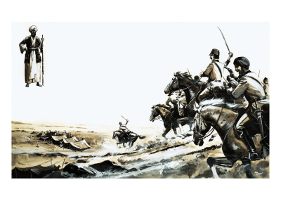 Captain John Jacob of the North-West Frontier Giclee Print