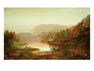 Scene Near Grafton, West Virginia, 1864 Premium Giclee Print by William Louis Sonntag