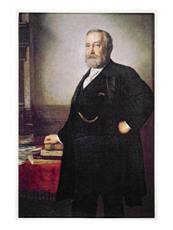 President Benjamin Harrison Premium Giclee Print by  American School