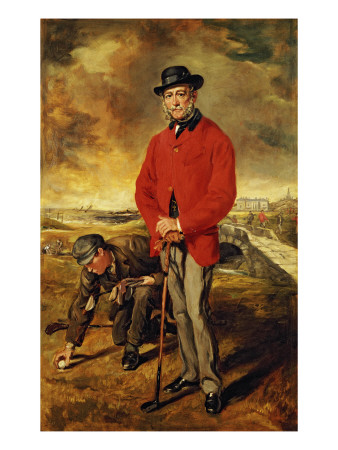 Portrait of John Whyte Melville, 1874 Premium Giclee Print by Sir Francis Grant
