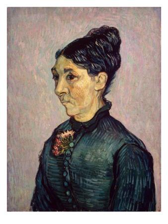 Portrait of Madame Jeanne Lafuye Trabuc, 1889 Giclée-tryk