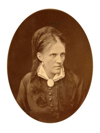 Portrait Bust of Anna G. Dostyevskaya Premium Giclee Print by N.A. Lorenkovich