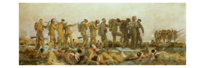 Gassed, an Oil Study, 1918-19 Giclee Print by John Singer Sargent
