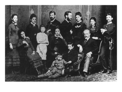 The Freud Family, C.1876 Giclee Print