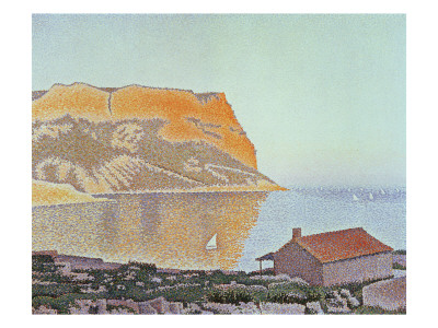 Cap Canaille, Cassis Premium Giclee Print by Paul Signac