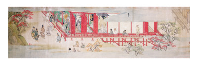 The House of the Shogun Giclee Print by  Japanese School