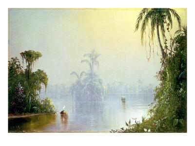 Tropical Haze, 1879 Premium Giclee Print by Norton Bush