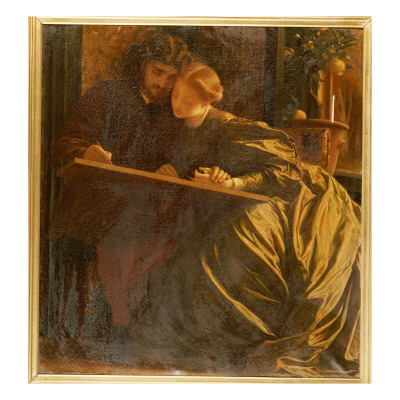 Painter's Honeymoon, C.1864 Lámina giclée