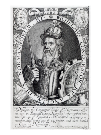 William the Conqueror, 1618 Giclee Print