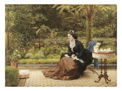 Five O'Clock, C.1874 Premium Giclee Print by George Dunlop Leslie