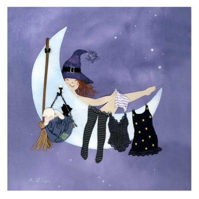 Midnight Bath Prints by Diane Ethier