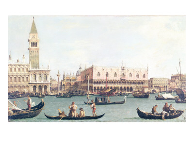 Venice from the Bacino Premium Giclee Print by  Canaletto