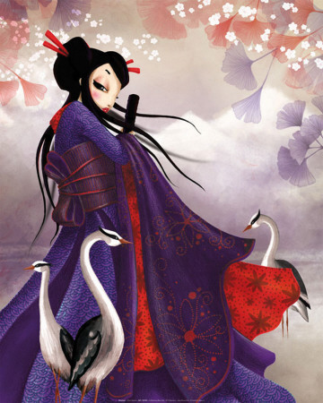 Miss Sakura Affischer av  Misstigri