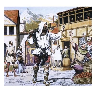William Tell Giclee Print by Alberto Salinas