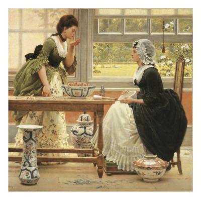 Pot-Pourri Giclee Print by George Dunlop Leslie
