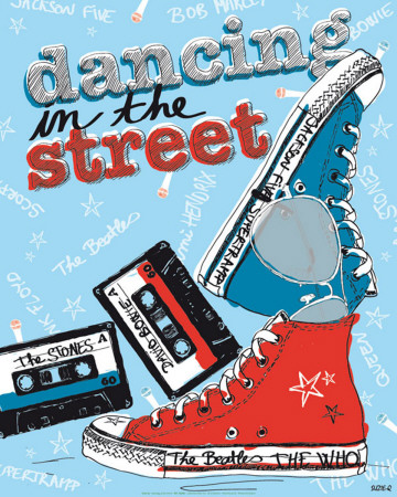 Dancing in the Street Posters by Suzie Q.