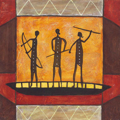 Boat People Prints by Jerome Obote