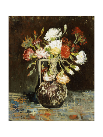 Bouquet of Flowers Giclee Print