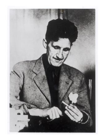 George Orwell Premium Giclee Print