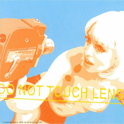 Do Not Touch Lens Prints by  Moz