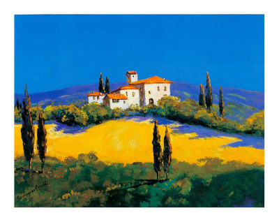 Summer in Provence IV Prints by B. Arroldi
