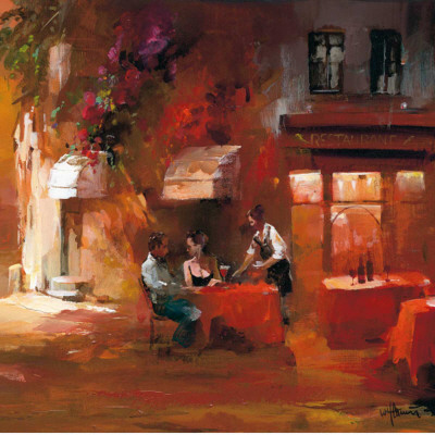 Dinner for Two III Posters by Willem Haenraets