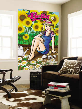 Archie Comics Cover: Betty No.191 Wall Mural by Dan Parent