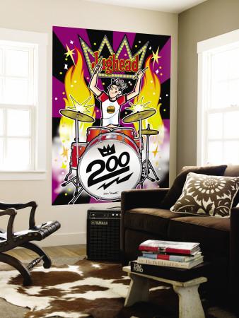 Archie Comics Cover: Jughead No.200 Wall Mural by Dan Parent