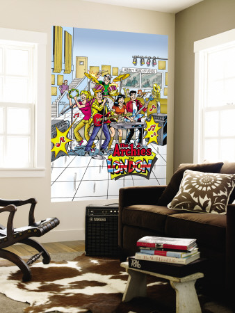 Archie Comics Cover: Archie Digest No.257 The Archies Wall Mural by Rex Lindsey