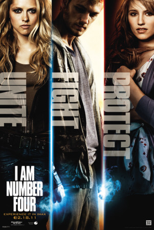 I Am Number 4 - Characters Posters