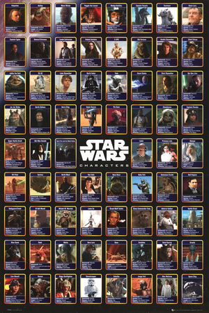 Star Wars Posters on Star Wars   Compilation Poster Bei Allposters De