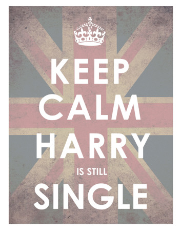 Keep Calm, Harry is Still Single Lámina