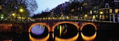 Amsterdam Twilight Prints by Chris Warren