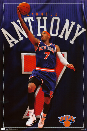 Knicks -C. Anthony 2011 Plakat
