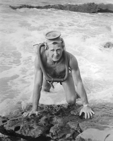 Lloyd Bridges - Sea Hunt Photo