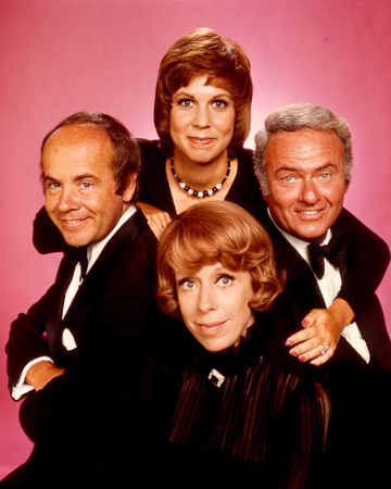 The Carol Burnett Show cast photo