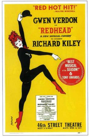 Redhead - Broadway Poster , 1959 Masterprint