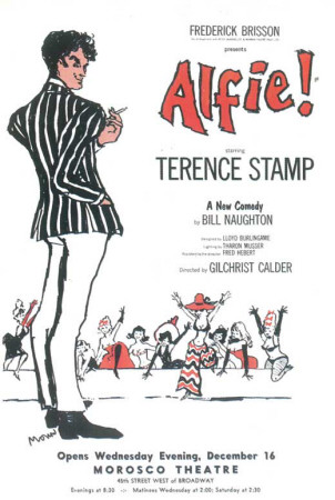 Alfie! - Broadway Poster , 1966 Masterprint