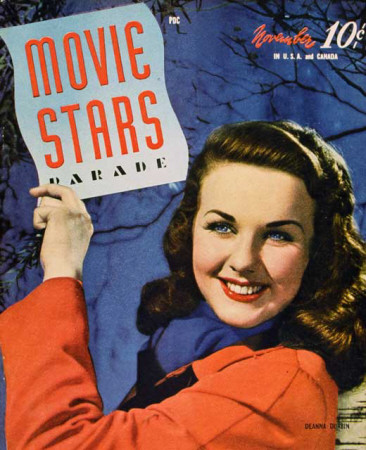 Deanna Durbin - Movie Stars Parade Magazine Cover 1940's Masterprint