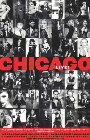 Chicago - Broadway Poster Lámina maestra
