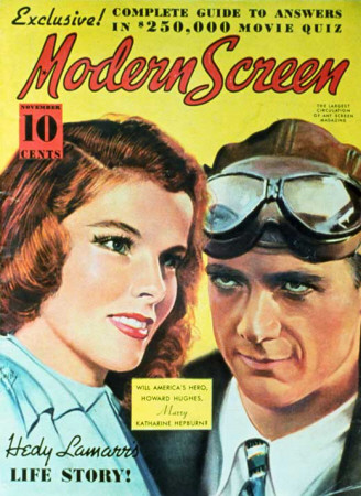 Hepburn, Katharine - Modern Screen Magazine Cover 1930's Masterprint