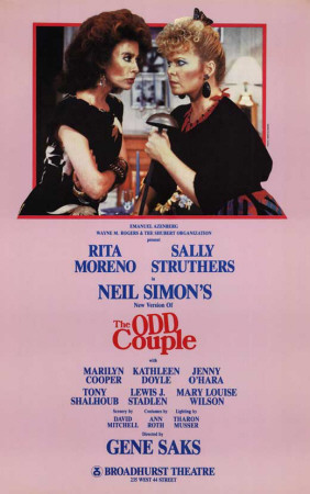 Odd Couple, The – Broadway Poster , 1985 Masterprint