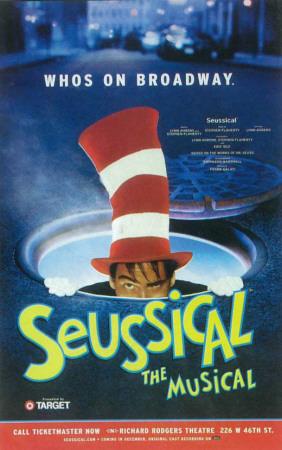 Seussical - Broadway Poster , 2000 Masterprint
