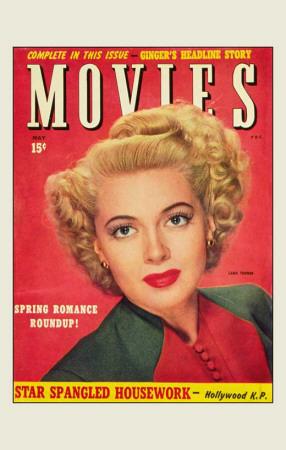 Lana Turner - Movie Magazine Cover 1930's Masterprint