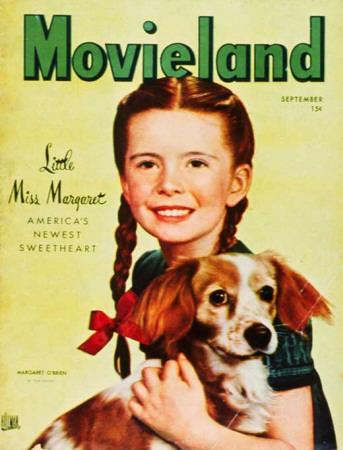 Margaret O'Brien - Movieland Magazine Cover 1940's Masterprint