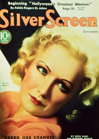 Miriam Hopkins - Silver Screen Magazine Cover 1930's Masterprint