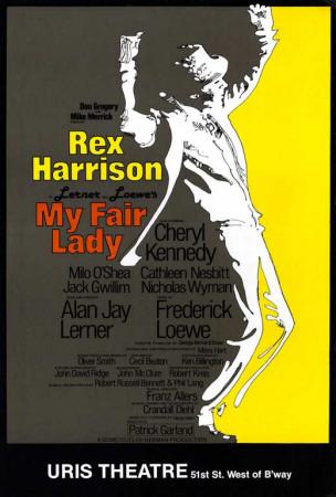 My Fair Lady - Broadway Poster , 1981 Masterprint
